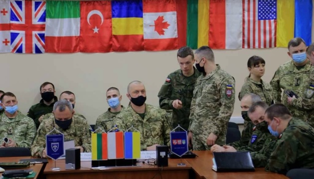 На Львовщине начали подготовку к международным военным учениям «Три меча - 2021»