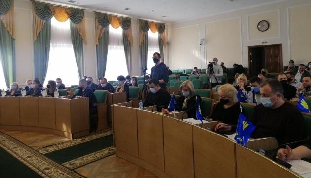 Горсовет Каменца-Подольского просит власти запретить пророссийские партии