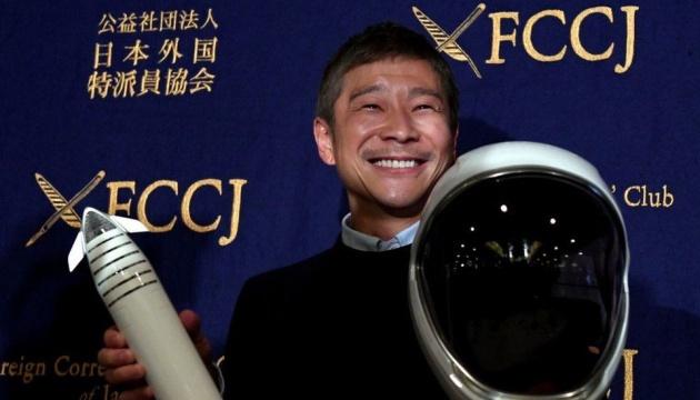 Японський мільярдер шукає попутників для подорожі навколо Місяця