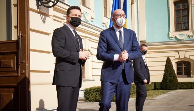 Зеленський подякував президенту Євроради за плідний діалог