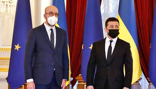 Charles Michel : Les Ukrainiens ne sont pas seuls, car l'Europe est à leurs côtés