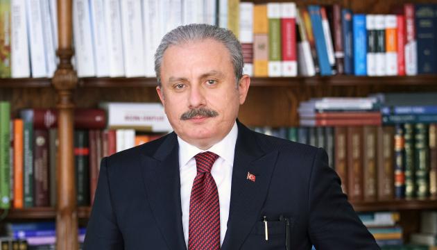 Speaker of Turkish parliament going to Ukraine after 8-year break