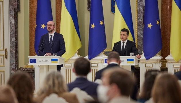 Charles Michel : L'UE soutient la souveraineté et l'intégrité territoriale de l'Ukraine