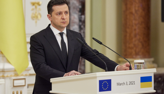Zelensky: Ukraine seeks greater integration into EU's internal market