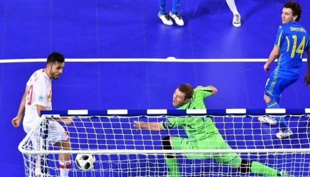 Сборная Украины по футзалу уступила хорватам в матче отбора на Евро-2022
