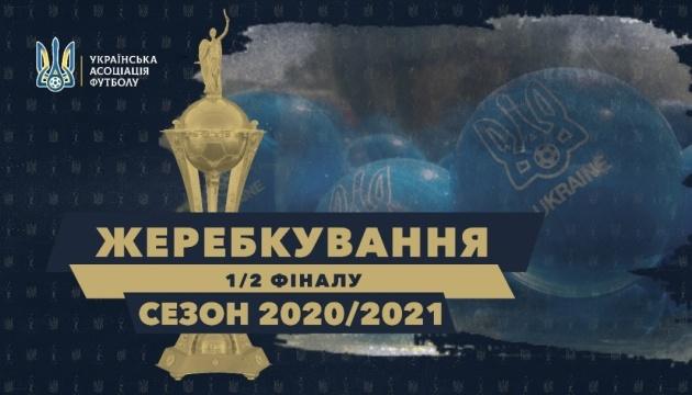 Визначилися півфінальні пари Кубка України з футболу