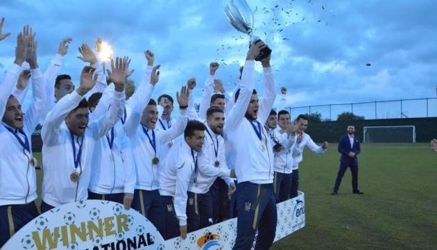 Молодіжна збірна України з футболу зіграє на турнірі в Туреччині