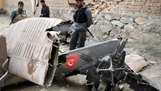 В Турции разбился военный вертолет, есть погибшие