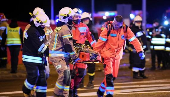 Nach schwerem Unfall in Polen: 24 Ukrainer immer noch in Krankenhäusern