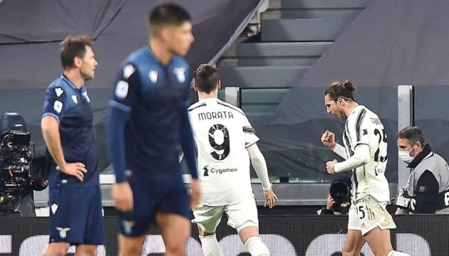 Серия А: «Ювентус» обыграл «Лацио»