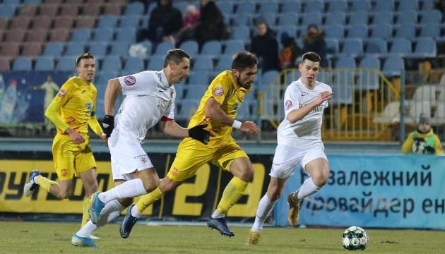 «Ингулец» и «Колос» поделили очки в матче чемпионата Украины по футболу