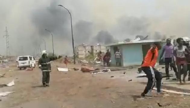 Взрывы на военной базе в Экваториальной Гвинее - 15 погибших, сотни раненых