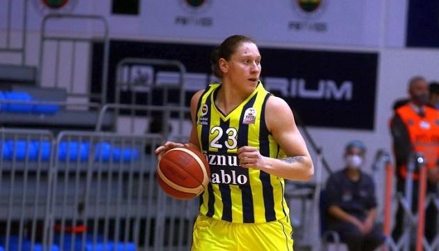Українська баскетболістка допомогла «Фенербахче» знову виграти