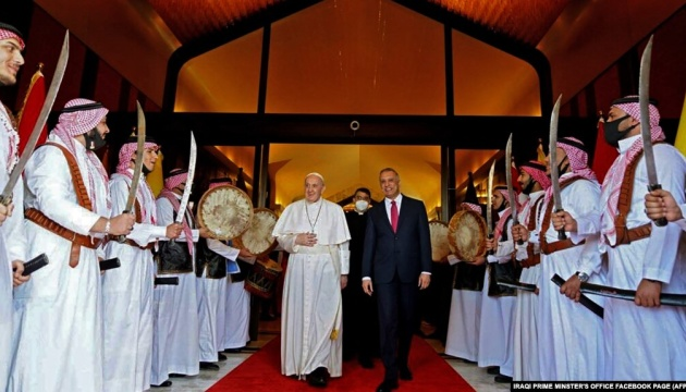 Папа Римський зробив заяву після історичного візиту до Іраку