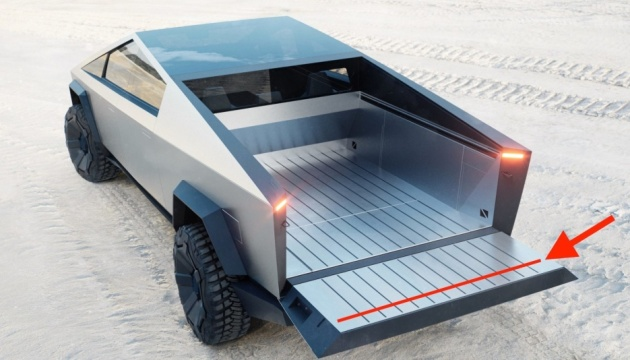 Tesla готує оновлену версію броньованого Cybertruck