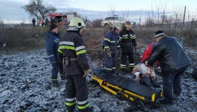 На Харьковщине перевернулся микроавтобус, есть погибшие и травмированные