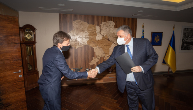 Minister Avakov, Italy's Ambassador discuss steps to intensify investment cooperation