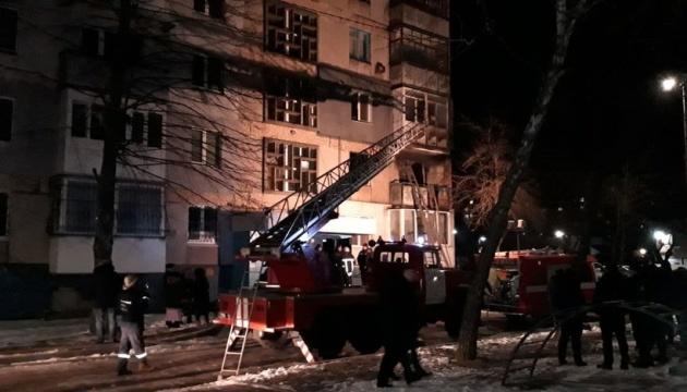 В Кропивницком два человека пострадали от взрыва в многоэтажке