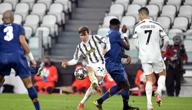 Дубль К'єзи не допоміг «Ювентусу» пройти «Порту» у Лізі чемпіонів УЄФА
