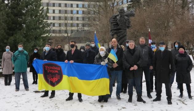 У Латвії відзначили річницю з дня народження Тараса Шевченка