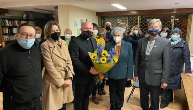 Душпастир УГКЦ зустрівся у Мадриді з українською громадою