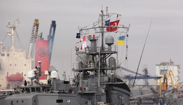Four NATO ships enter Odesa port