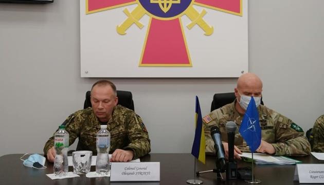 Ukrainian, NATO land commanders set priorities for cooperation