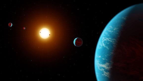 Астрономи виявили шосту планету навколо «Оранжевого карлика» у сузір'ї Водолія