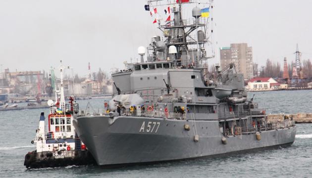 Cztery statki NATO wpłynęły do portu w Odessie