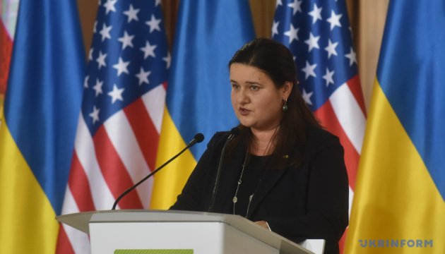 Markarova holds first meeting with Ukrainian consuls in United States