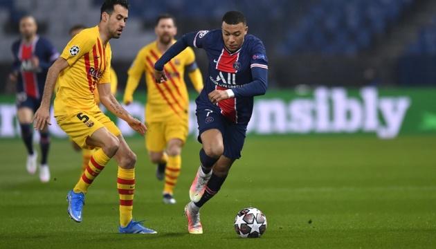 «Парі Сен-Жермен» відстояв нічию з «Барселоною» і зіграє в 1/4 фіналу Ліги чемпіонів