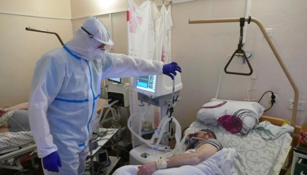 Na Ukrainie zarejestrowano 9642 nowe przypadki COVID-19