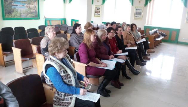 Організоване вивчення української: співробітники «Миколаївводоканалу» сіли за парти