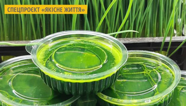 На Житомирщині виготовляють сік із паростків пшениці