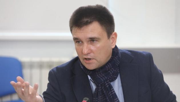 Режим Путіна дуже небезпечний для України у короткій перспективі – Клімкін