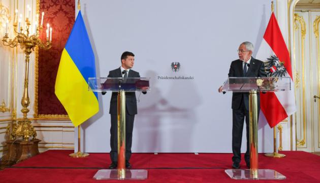 Зеленський запросив президента Австрії приєднатися до Кримської платформи