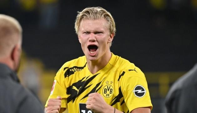 Форвард «Боруссії» Голанд став гравцем тижня Ліги чемпіонів УЄФА