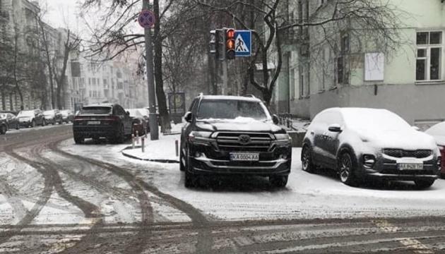 Арахамію у Києві оштрафували за порушення ПДР