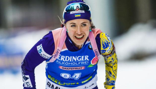 Екгофф виграла персьют Кубка світу з біатлону, Джима - п'ятнадцята