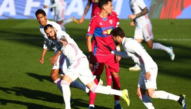 «Реал» обіграв «Ельче» і вийшов на друге місце Ла Ліги