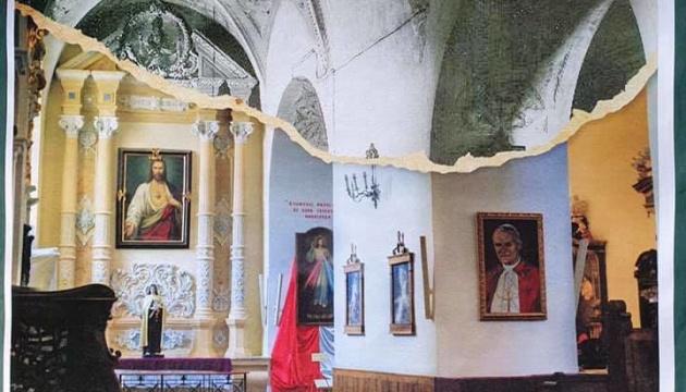 В Каменце-Подольском показали интерьер костела Петра и Павла в ретроспективе