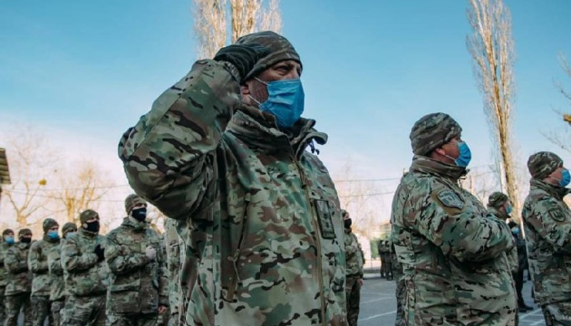 У Нацгвардії відзначили День українського добровольця