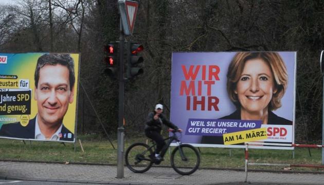 У двох регіонах Німеччини ідуть місцеві вибори, які вважають перевіркою партії Меркель