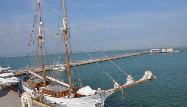 105-річний вітрильник SY Joseph Conrad відкрив яхтовий сезон в Одесі