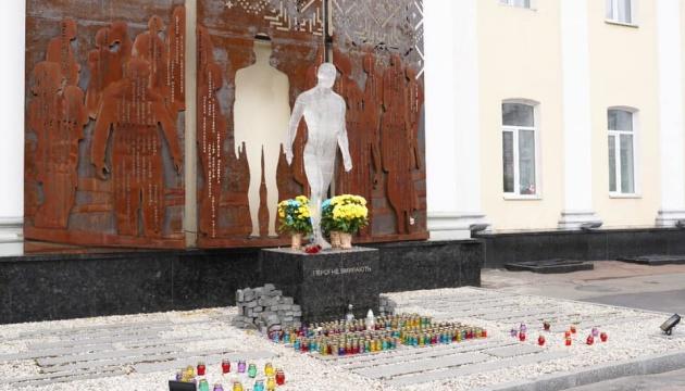 У Житомирі пошкодили пам'ятник Героям Небесної Сотні