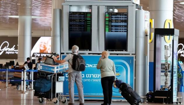 Ізраїль від завтра поновлює авіасполучення з усіма країнами