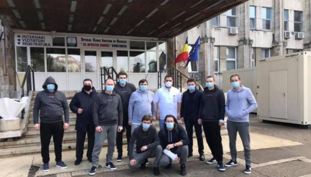Авария у берегов Румынии: часть украинских моряков выписали из больницы Констанцы