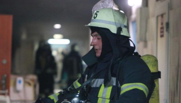 Bettwäsche brannte in Kyjiwer Krankenhaus