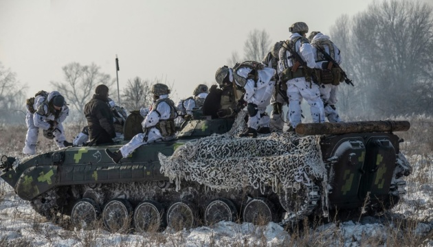 Russian-led forces violate ceasefire in Donbas ten times