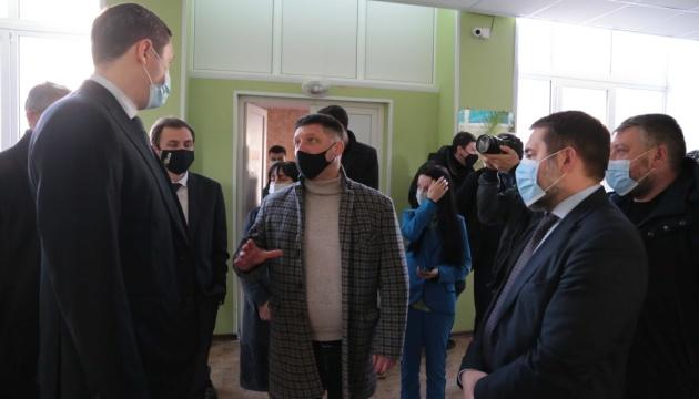 Чернишов: Луганщина у 2020 році повністю виконала завдання «Великого будівництва»